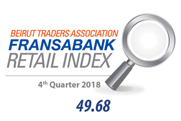 Beirut Traders Association - Fransabank Retail Index For The Fourth Quarter 2018 (Q4-2018)